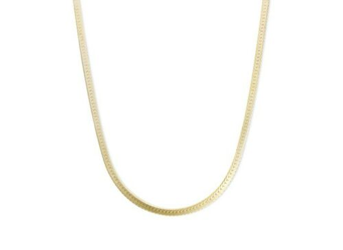 14k GOLD PLATED STERLING SILVER 925 ITALIAN CHAIN NECKLACE BRACELET ANKLET