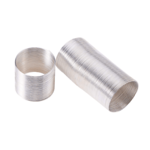 40 Silver,Bronze Tone Big Hole Bead Spacers Fit Bracelet 9x10mm ZN25155