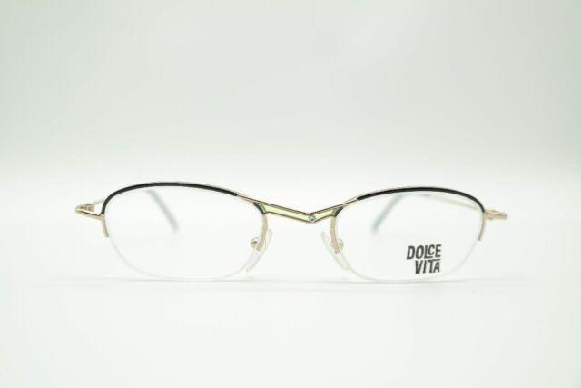 Vintage Casanova DVL-2 Multicoloured half Rim Glasses Frames Eyeglasses NOS