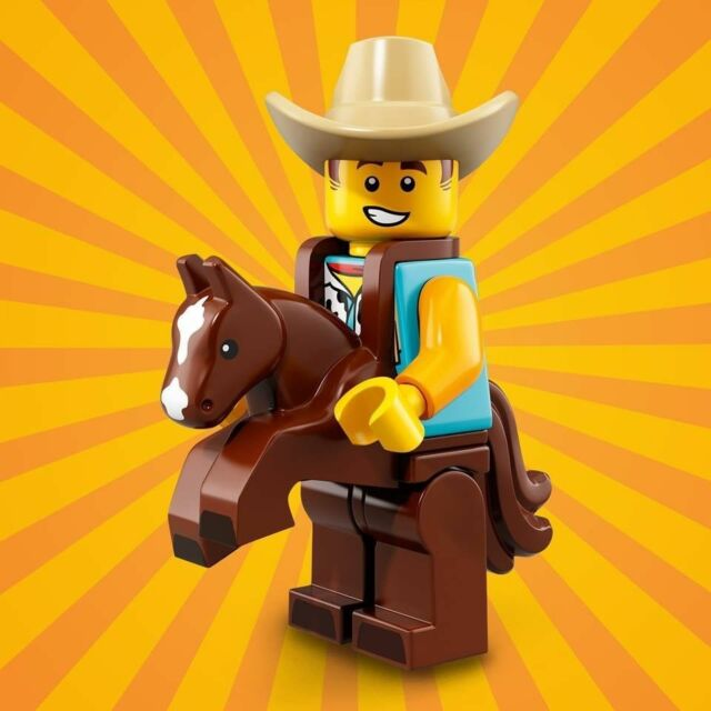 LEGO Minifigures Series 18 - #15 COWBOY COSTUME GUY 71021 - Brand New/Open Pack