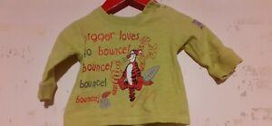 Disney At George Baby Boys Tigger T Shirt Aged 0-3 Months