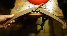 Ancien palomnier Agricole Fer Forgé à transformer en Lampe Lustre déco Atelier