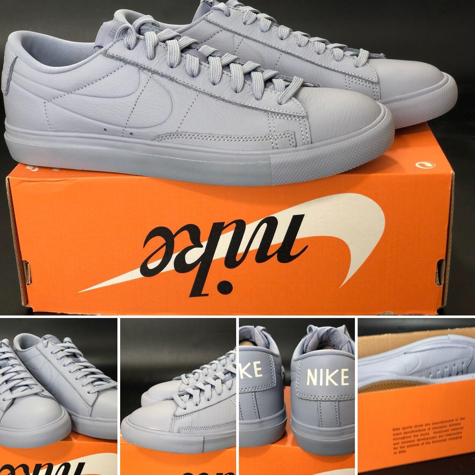 Nike blazer ghiacciaio grey dimensioni uk6 / us7 / eur40 / cm25 371760-025