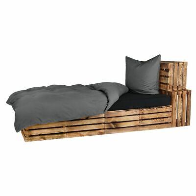 Original 2 Bettwäschegarnituren Bettwäsche 4 Tlg Bettwäsche Bettgarnitur Bettbezug Mikrofaser Anthrazit 135 X 200 Cm Kaufen Sie Immer Gut