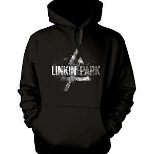 Linkin-Park-Rauch-Logo-Offiziell-Lizenziert-Pullover-Hoodie