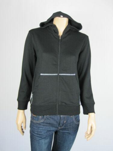 Slazenger Kids Boys Girls Sport Zip Up Hoodie Top Jacket size 12 14 Colour Black