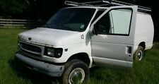 2001 ford E350 diesel parts either front door auction, other stuff available