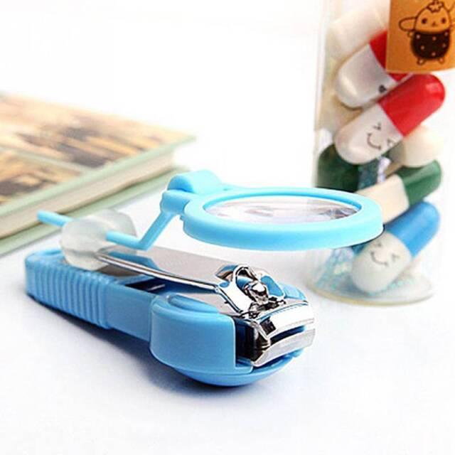 Toe Nail Clipper Pocket Baby Care Scissors Pedicure Tools Fingernail Plier