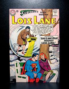 COMICS-DC-Superman-039-s-Girl-Friend-Lois-Lane-50-1964-1st-Louise-Lemon-app