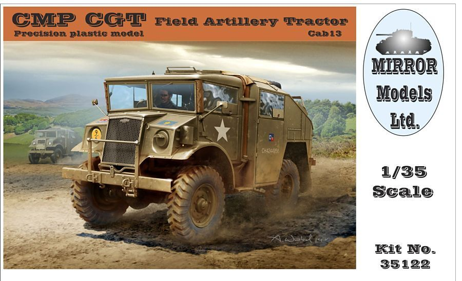 Mirror Models 1 35 - CMP CGT Field Artillery Tractor Plastic Model Kit