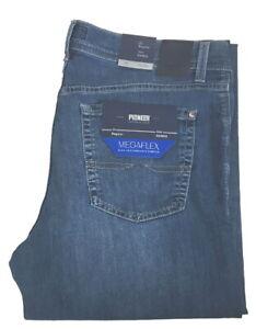 Pioneer-Rando-W-33-L-34-Megaflex-Stretch-Jeans-Hose-Blau-2-Wahl-1680-717-9766-06