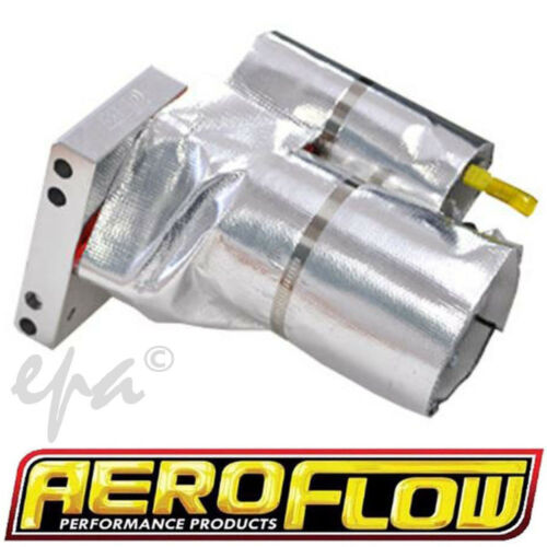 Aeroflow Aluminised Drag Race Car Hot Rod Starter Motor Heat Shield
