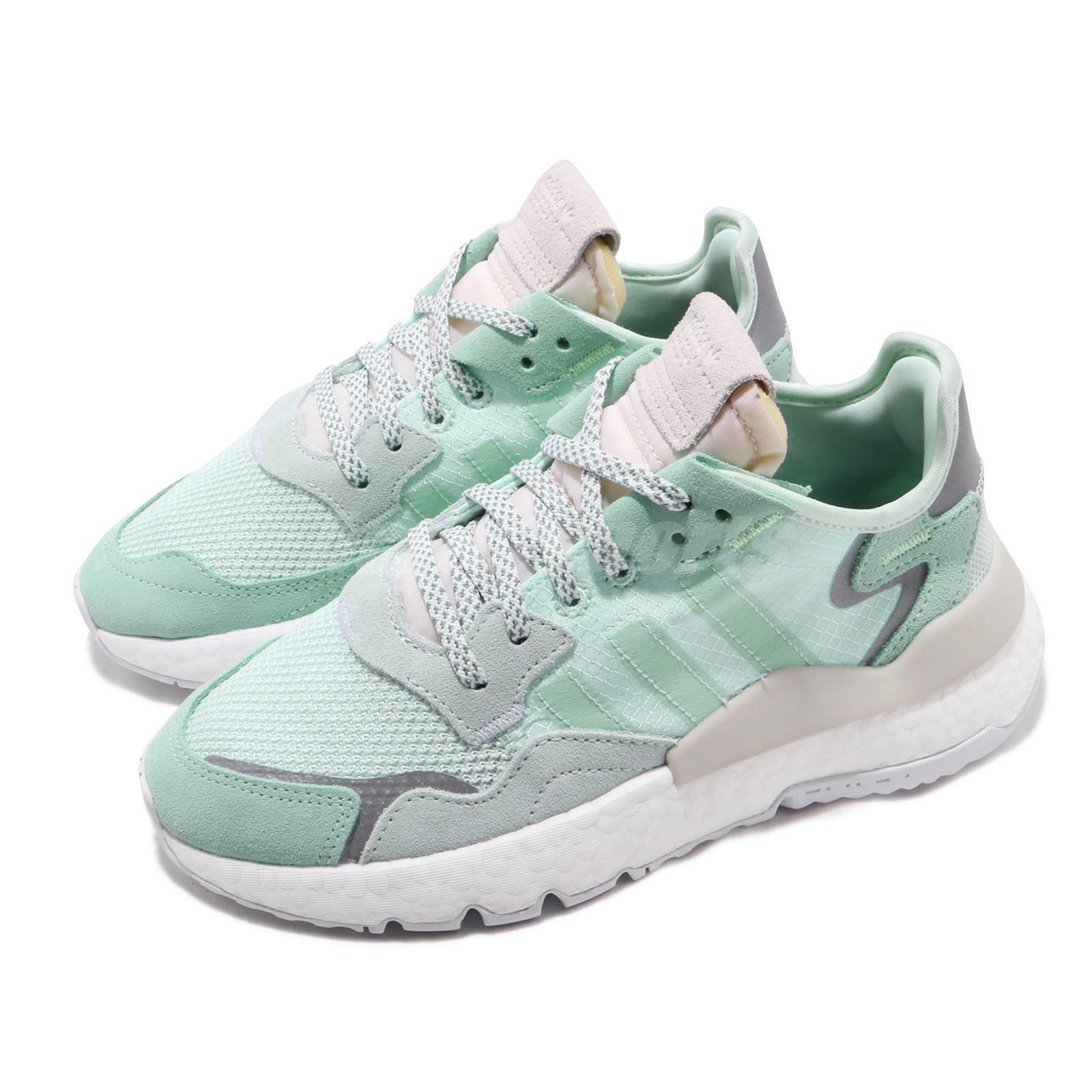 Adidas Originals Nite Jogger W Boost Ice Mint grigio  donna Running scarpe F33837  ti aspetto