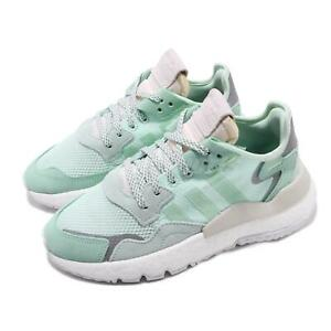 Details about adidas Originals Nite Jogger W Boost Ice Mint Grey Women Running Shoes F33837