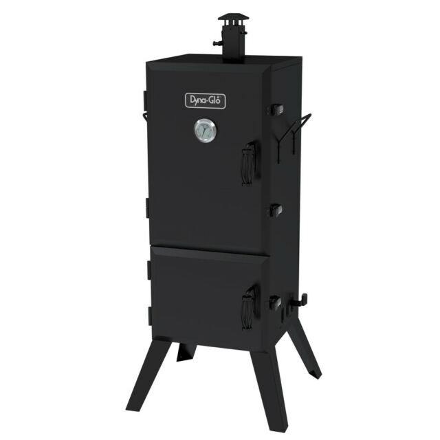 Charcoal Vertical Smoker Outdoor Cooking Home 49.73-in H x 21.45-in W 784-sq in