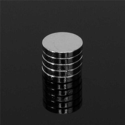 25 X Runde Scheibe Nützlichkeit Magneten 10mm X 2mm Kühlschrank
