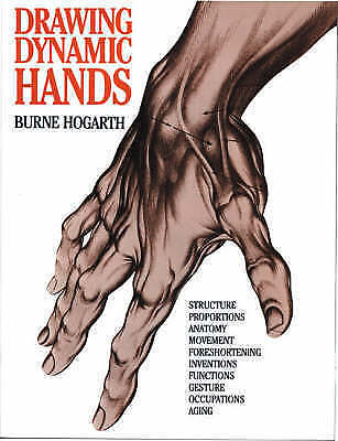 1 of 1 - Drawing Dynamic Hands by Burne Hogarth (Paperback, 1988)