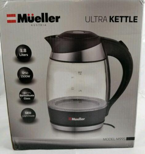 Black M99S for sale online Mueller Premium 1500W 1.8L Cordless Electric Kettle