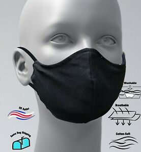 antibacterial reusable washable dual cotton laye mouth cover Face Mask