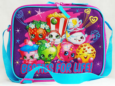Shopkins Besties for Life School Lunch Bag Insulated Snack Box Moose Toys Bag