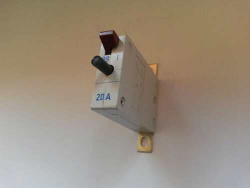Sicherung E-T-A 129-L11-H-KF  20A  28V  Schutzschalter