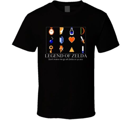 The Legend Of Zelda Class Nes Funny T Shirt