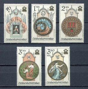 33282) Czechoslovakia 1978 MNH Stamp Exposition 5v