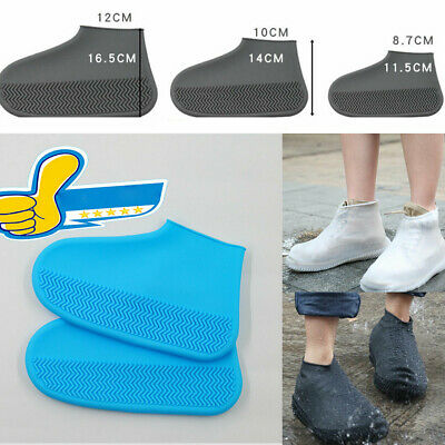 Silicone Waterproof Shoe Cover Outdoor Rainproof Hiking Skid-proof Shoe Covers