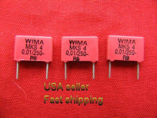 0.01uf, 10nf 50 pcs .01uf 250v  polyester film WIMA capacitors S