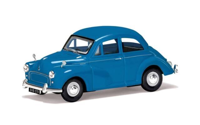 CORGI VANGUARD VA05810 1:43 O SCALE Morris Minor 1000, Turquoise