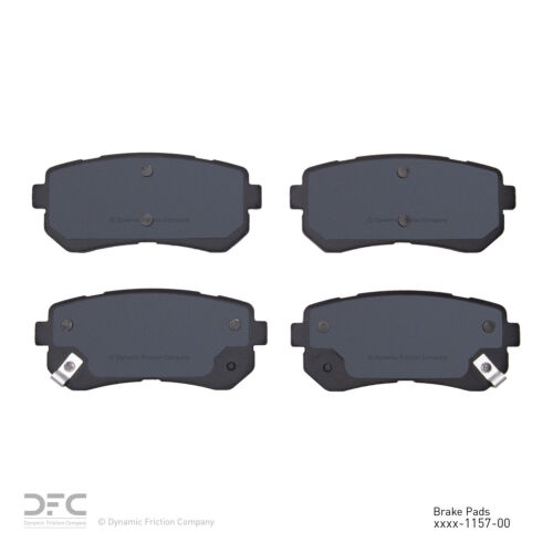 Disc Brake Pad Set-3000 Ceramic Brake Pads Rear DFC 1310-1157-00