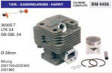 CILINDRO E PISTONE DECESPUGLIATORE TAYA SANDRIGARDEN HARRY 3600 34 GBL Ø 36 mm
