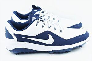 741ffdda4e5ac Nike React Vapor 2 Mens Size 9 Golf Shoes White Blue BV1135 100 ...