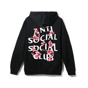 df90cc97a19e IN-HAND 100% Authentic Anti Social Social Club ASSC Kkoch Flower ...
