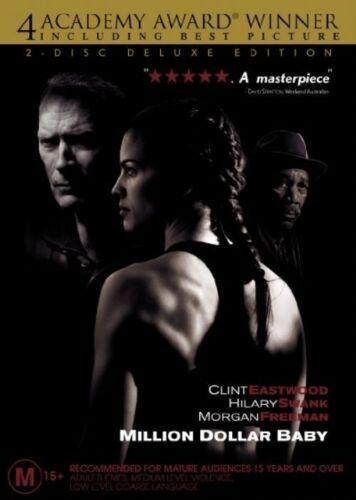 1 of 1 - Million Dollar Baby (2004) Clint Eastwood, Hillary Swank - NEW DVD - Region 4