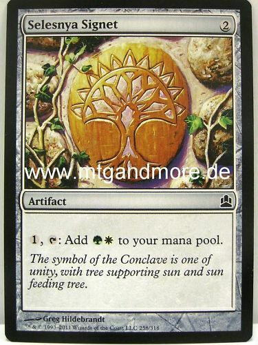 Magic Commander EDH 4x Selesnya Signet