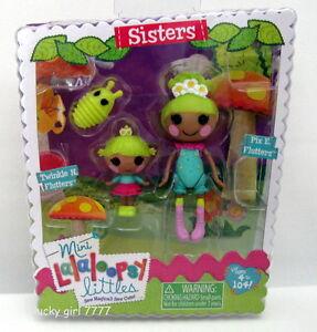 LaLaLOOPSY-Sisters-PIX-E-TWINKLE-FLUTTERS-Littles-Mini-Dolls-Low-Ship