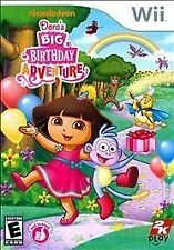 NINTENDO WII DORA'S BIG BIRTHDAY ADVENTURE NICKELODEON VIDEO GAME