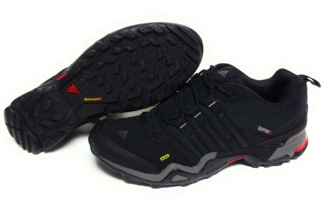 Mens Sz 9 Adidas Terrex Fast X GTX G97917 Black Gore Tex Trail Sneakers Shoes