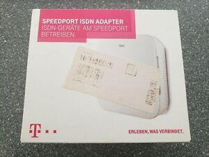 NEU-Telekom-Speedport-ISDN-Adapter-fuer-W724V-versiegelt-amp-schneller-Versand
