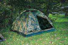 NEU 3 Personen Army Zelt drei Mann BW Bundeswehr Flecktarn Camping Moskitoschutz