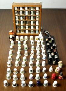 Large-collection-of-thimbles-FREE-Shipping-PL4849