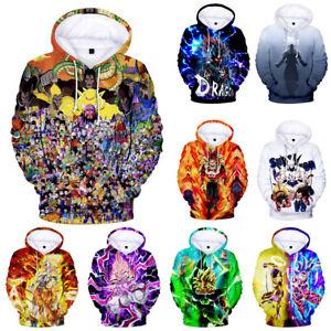 Anime-Dragon-Ball-Z-Hooded-Goku-3D-Print-Fashion-Hoodie-Sweater-Pullover-Top
