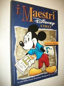 I-MAESTRI-DISNEY-ORO-19-SPECIALE-ROMANO-SCARPA-WALT-DISNEY-2001-OTTIMO-BELLISSMO