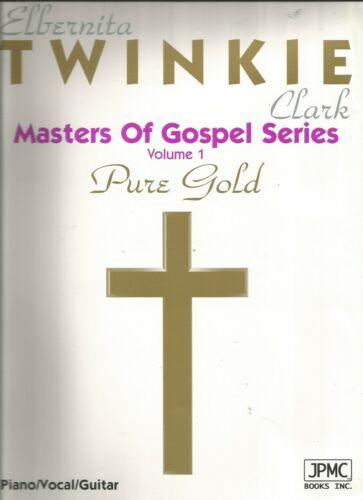 Elbernita Twinkie Clark Masters of Gospel Series Vol.1 Piano//Vocal//Guitar Songs
