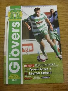 15-09-2007-Yeovil-v-Leyton-Orient-Thanks-for-viewing-our-item-if-this-item-h