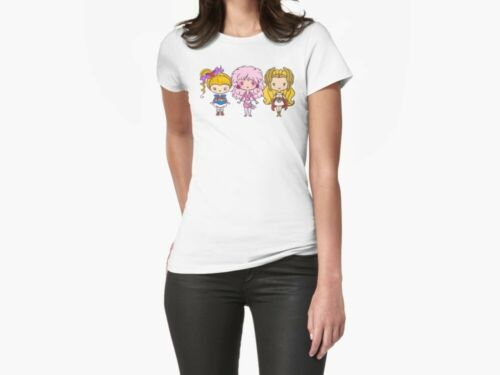 Eighties Ladies Unisex T shirt Lil/' CutiEs FairyLand Animation T-shirt
