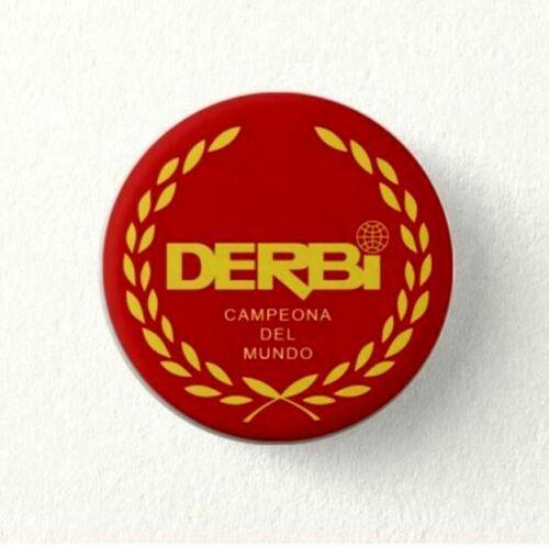 Chapa Pin Badge Button DERBI