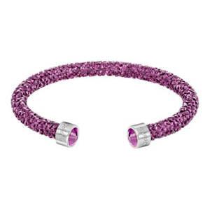 Swarovski-Women-039-s-Bracelet-Crystaldust-Pink-Small-5292439