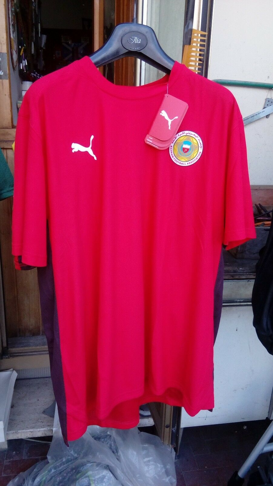 Maglia Bahrein Bahrain XXL chest 56-58 cm shirt NEW TAG football calcio maillot